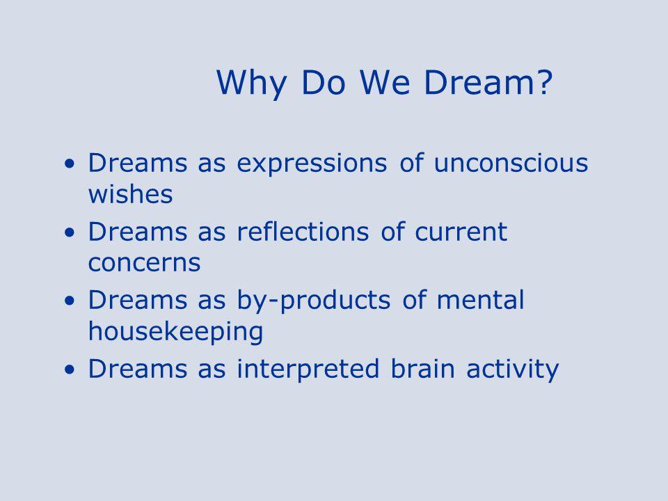Why Do We Dream.