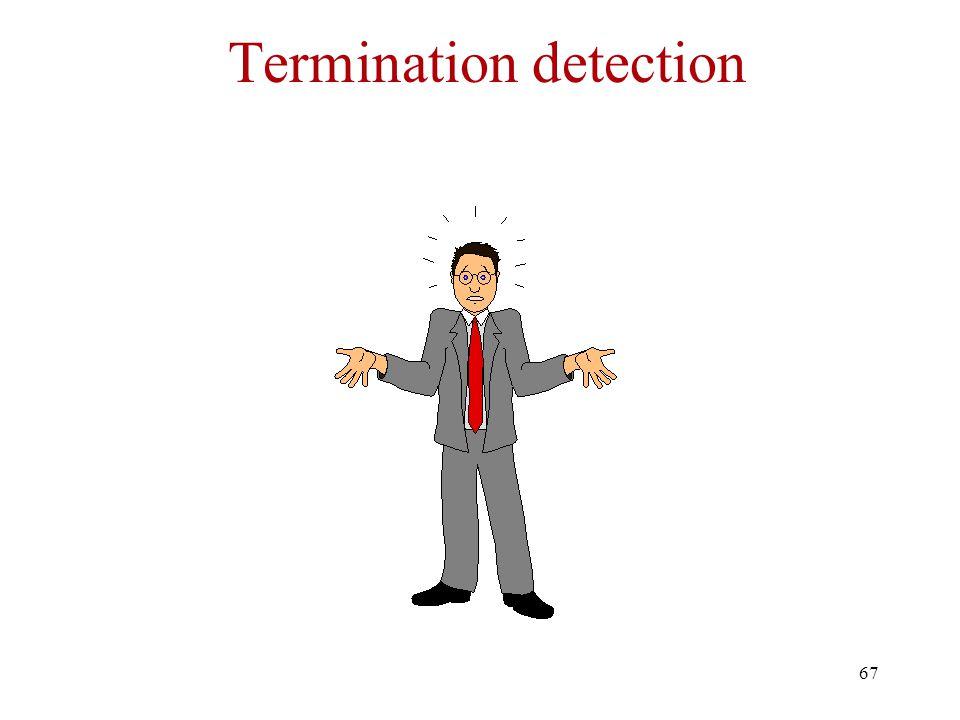 67 Termination detection