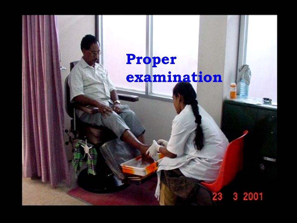 Proper examination