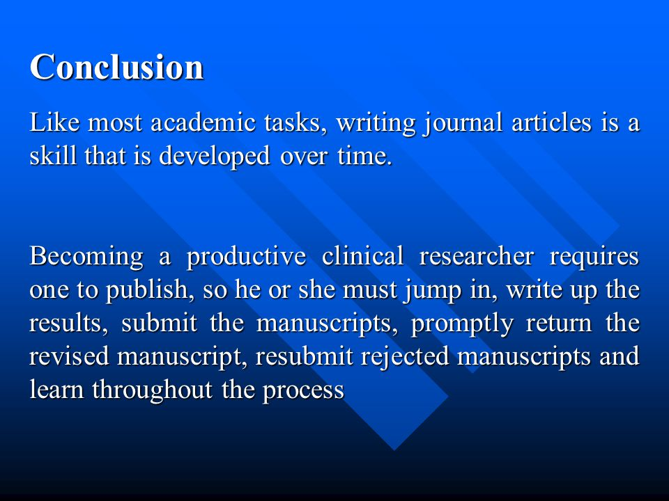 Submitting Process After choosing the journal and making the manuscript according to its format, you should submit it to the editor with a covering letter indicates: Title of the manuscript Title of the manuscript Conflict of interest Name of authors Demand for fast track service Type of submitted article And finally why you chose that journal