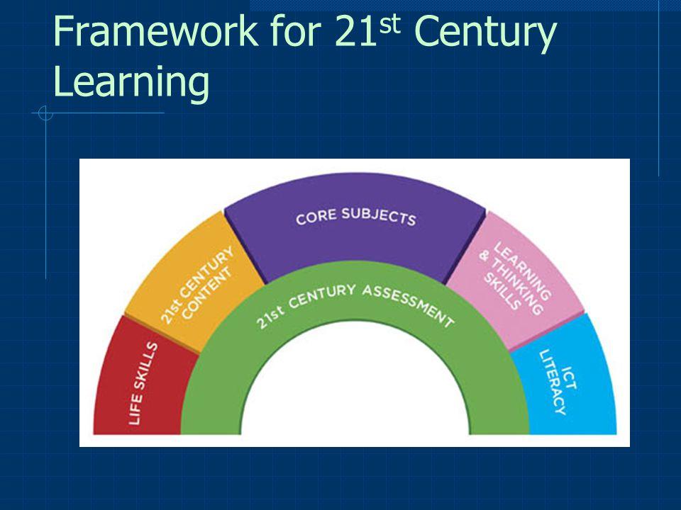 Framework for 21 st Century Learning