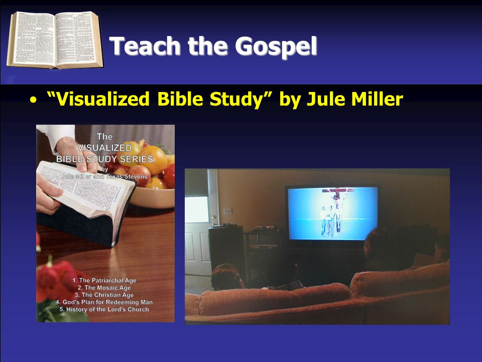 Teach the Gospel Visualized Bible Study by Jule Miller