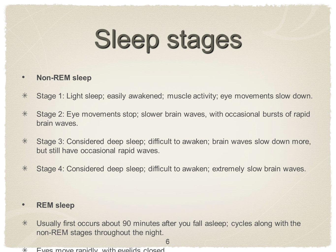 Sleep. Conclusion Sleep is important Follow some sleep advices Don´t worry about your sleep 27