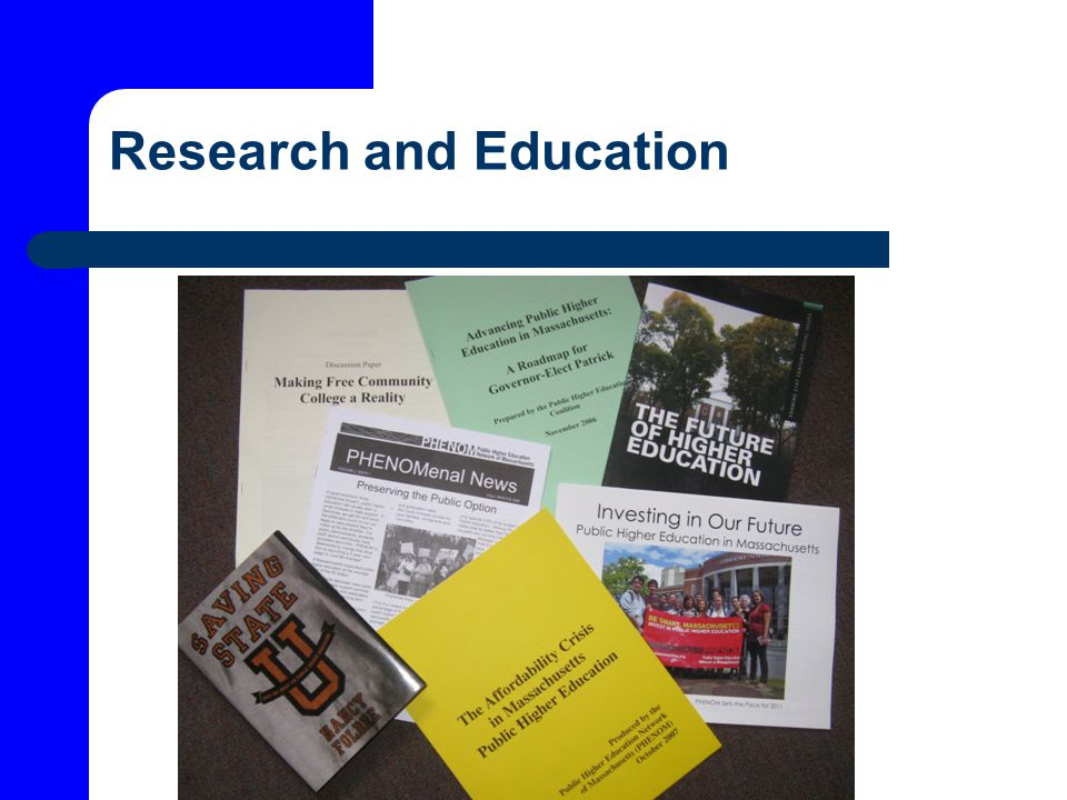 Research and Education