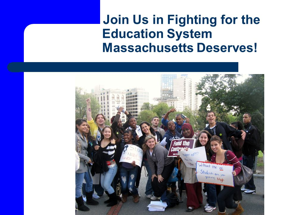 Join Us in Fighting for the Education System Massachusetts Deserves!