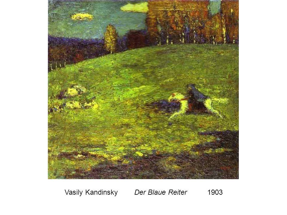 Vasily Kandinsky Der Blaue Reiter 1903