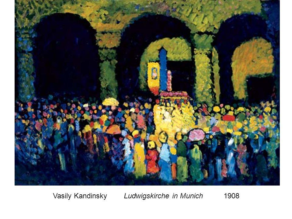 Vasily Kandinsky Ludwigskirche in Munich 1908