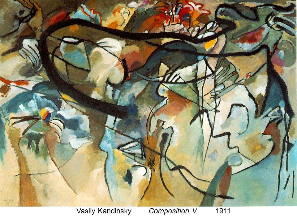 Vasily Kandinsky Composition V 1911