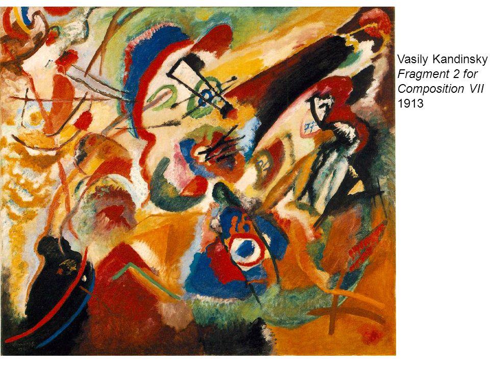 Vasily Kandinsky Fragment 2 for Composition VII 1913
