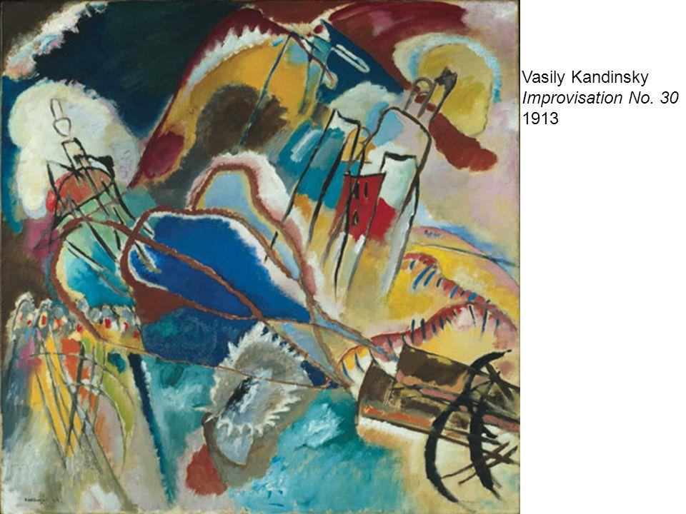 Vasily Kandinsky Improvisation No. 30 1913