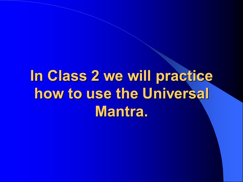 Topic Five To Introduce Class 2