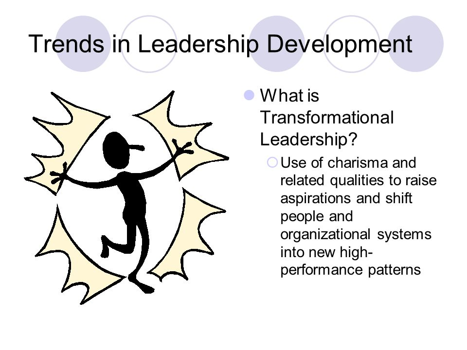 Trends in Leadership Development What is Transformational Leadership.