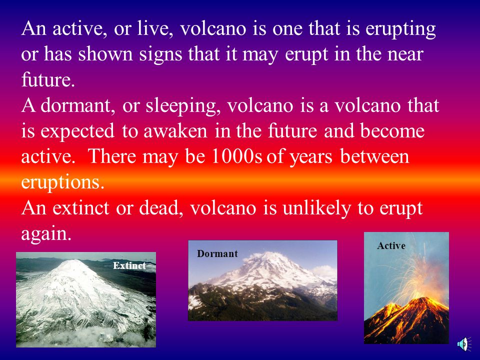 A composite cone volcano is formed of layers of cinders and lava from explosive and non-explosive eruptions. The volcano erupts explosively and then q