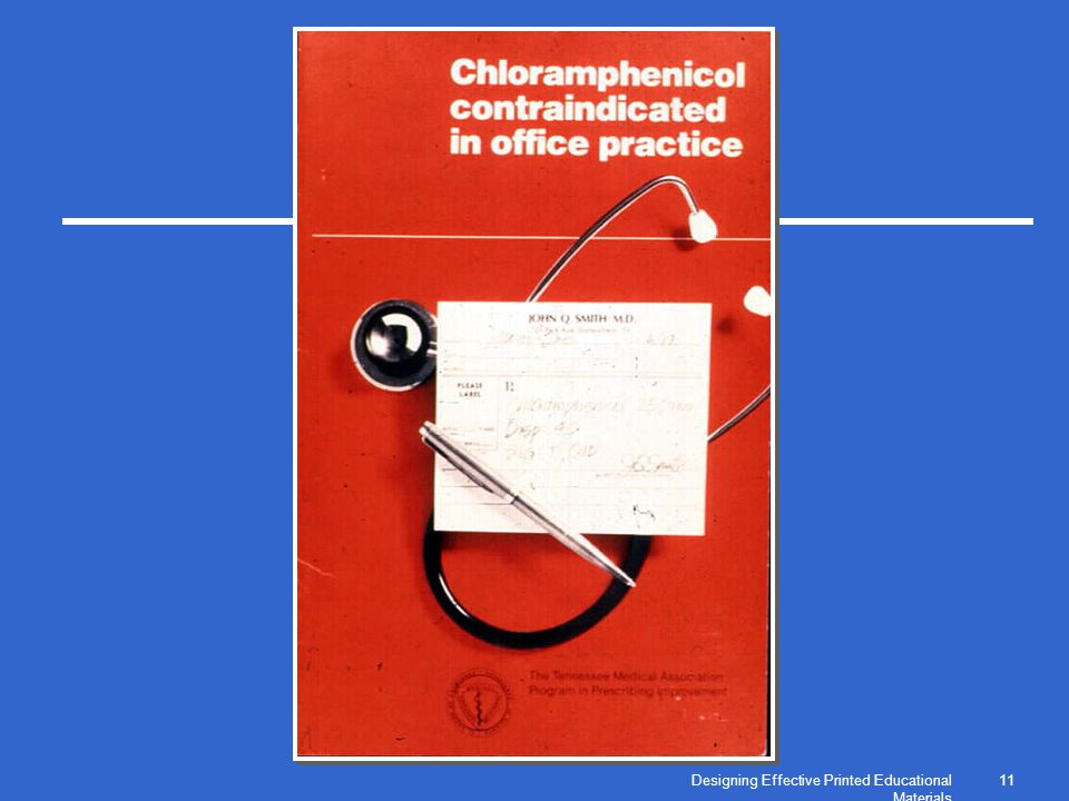 Designing Effective Printed Educational Materials 11