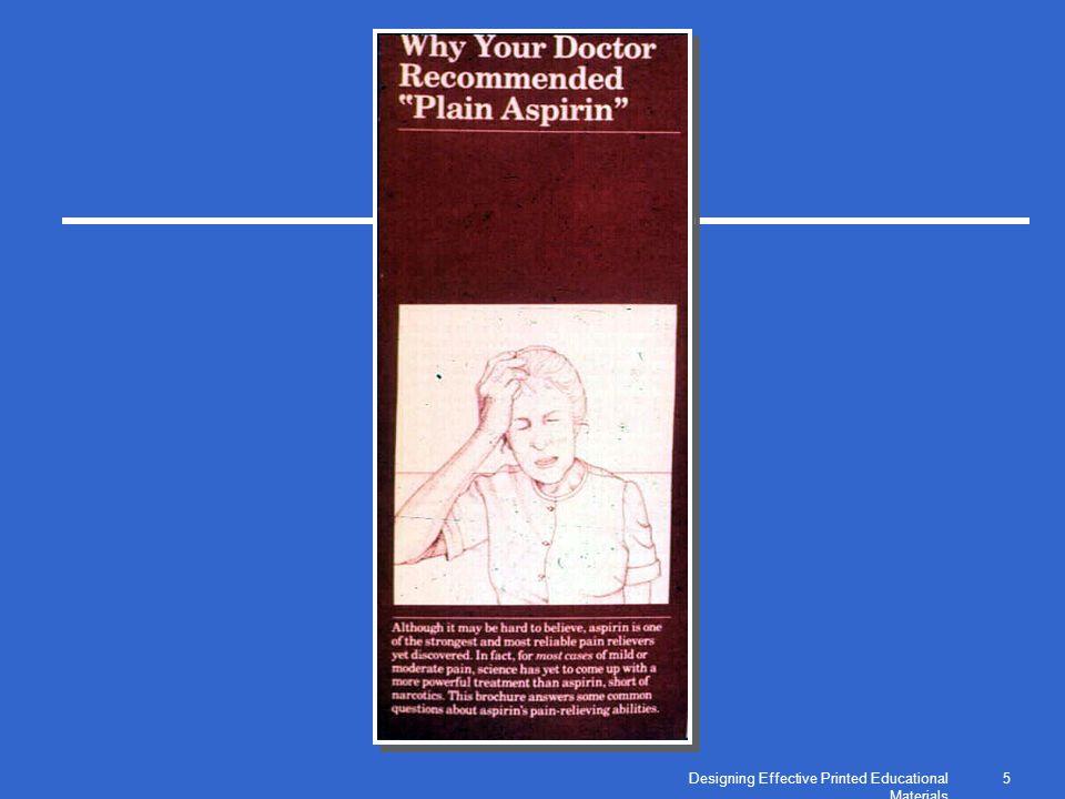 Designing Effective Printed Educational Materials 5