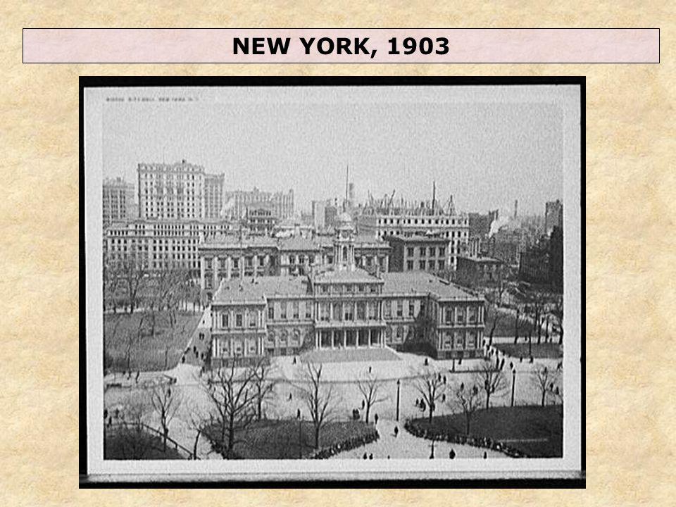 NEW YORK, 1903