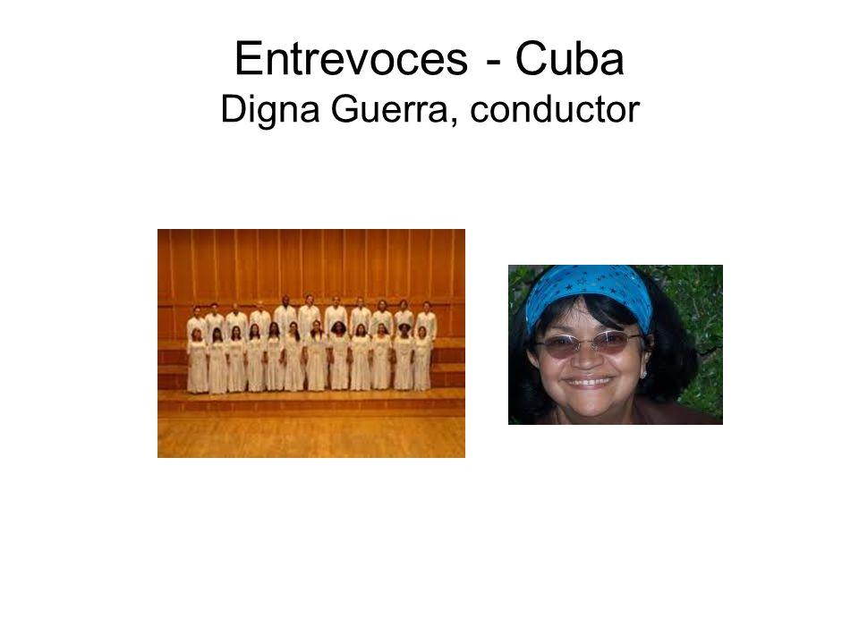 Entrevoces - Cuba Digna Guerra, conductor