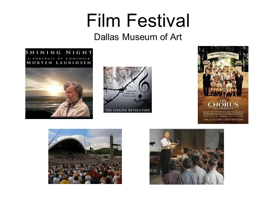 Film Festival Dallas Museum of Art