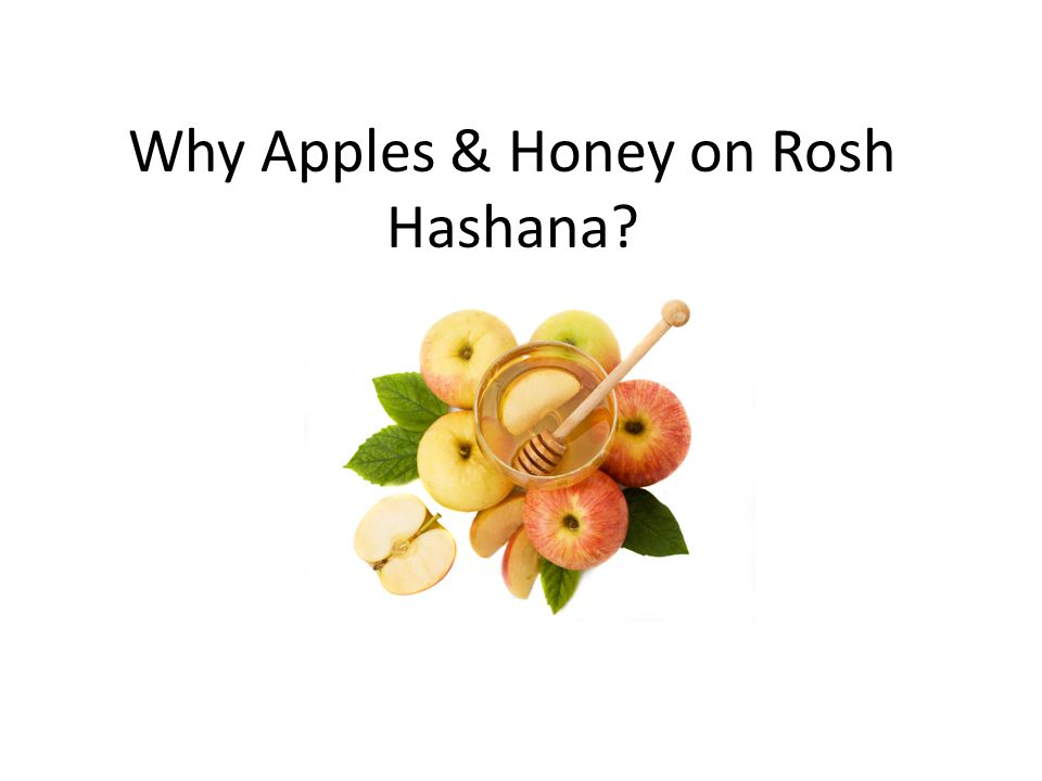 Why Apples & Honey on Rosh Hashana