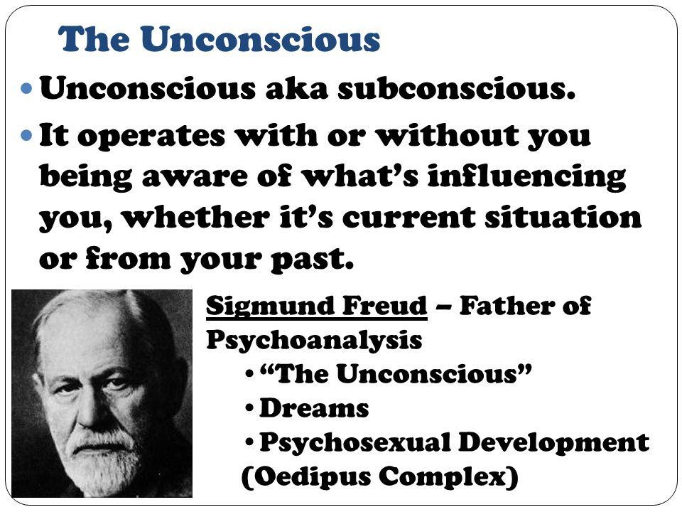 The Unconscious Unconscious aka subconscious.