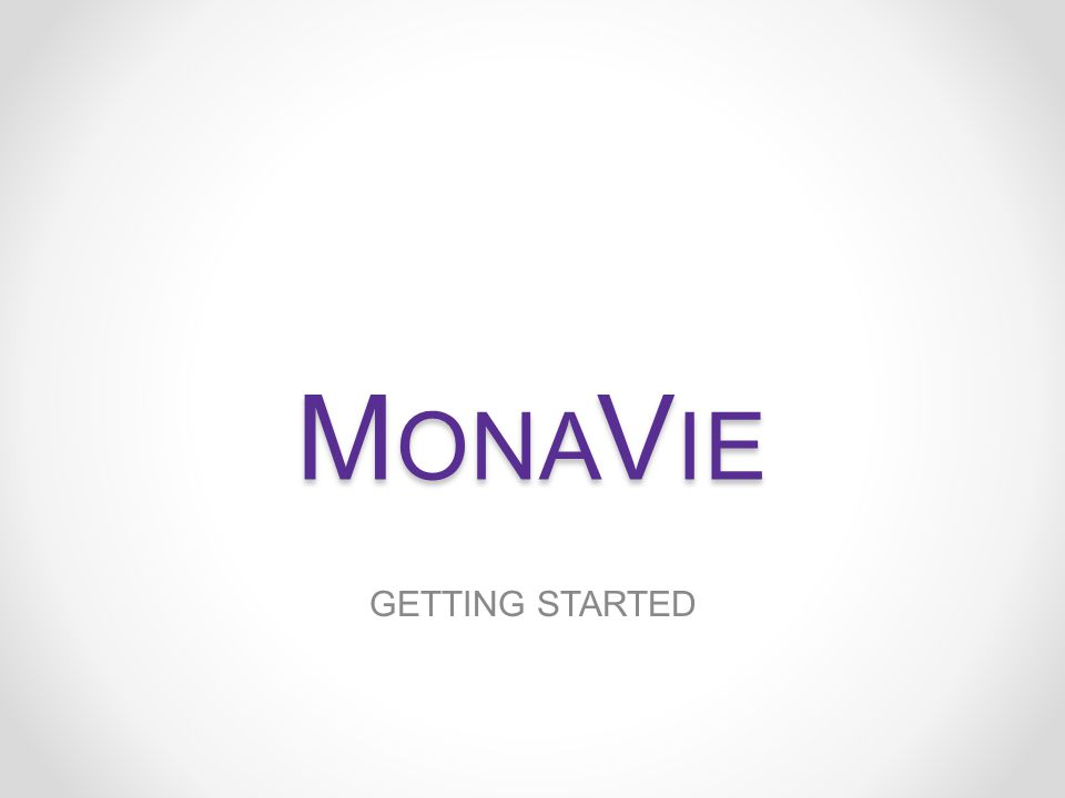 MONAVIE TRAINING 8.