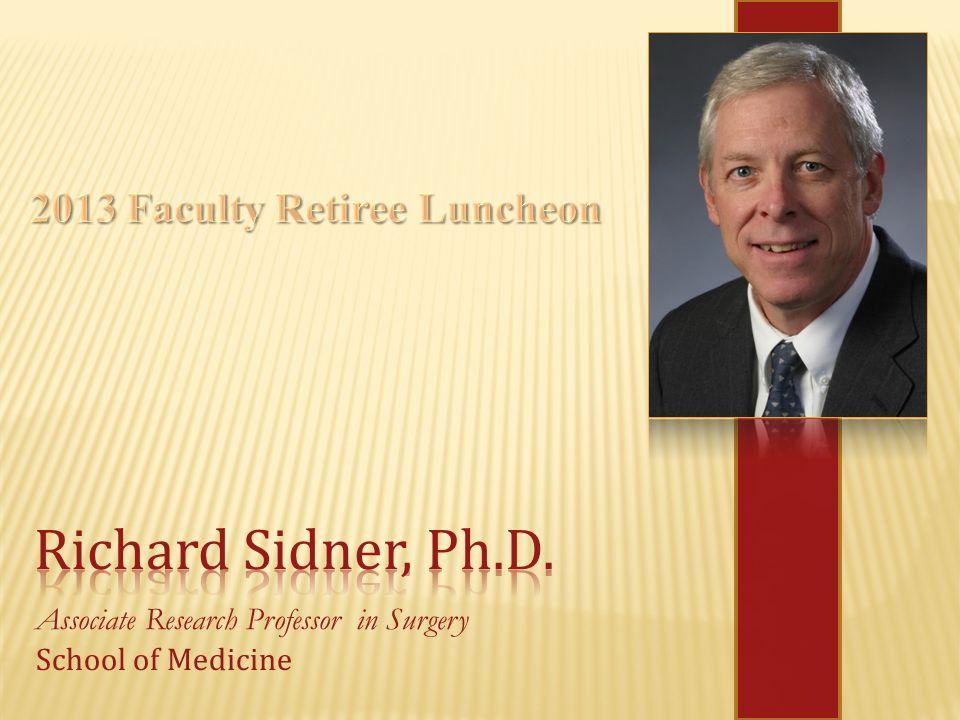 Associate Research Professor in Surgery School of Medicine