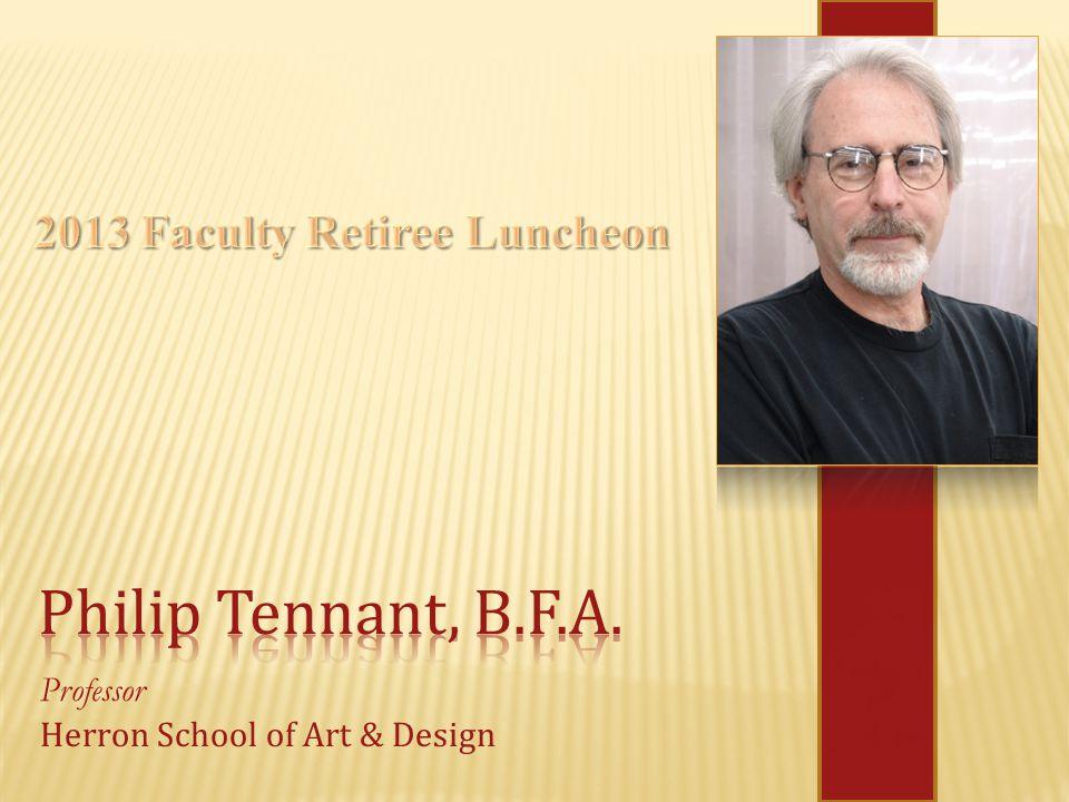 Professor Herron School of Art & Design