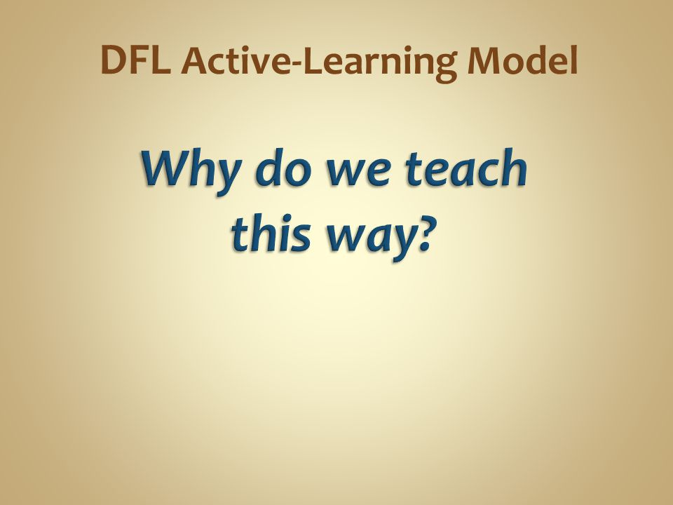 DFL Active-Learning Model