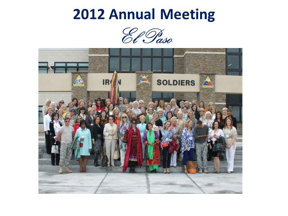 2012 Annual Meeting El Paso