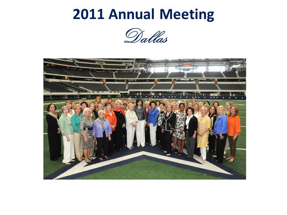 2011 Annual Meeting Dallas