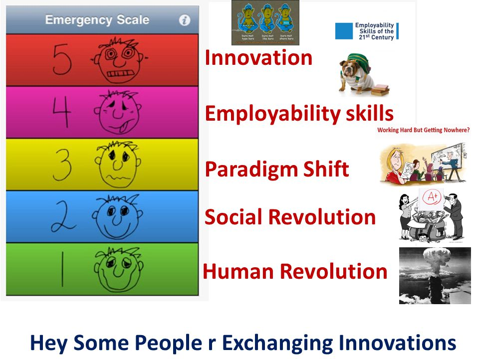Human Revolution Social Revolution Paradigm Shift Employability skills Innovation Hey Some People r Exchanging Innovations