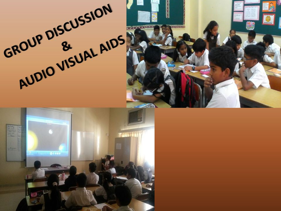GROUP DISCUSSIONGROUP DISCUSSION & AUDIO VISUAL AIDSAUDIO VISUAL AIDS