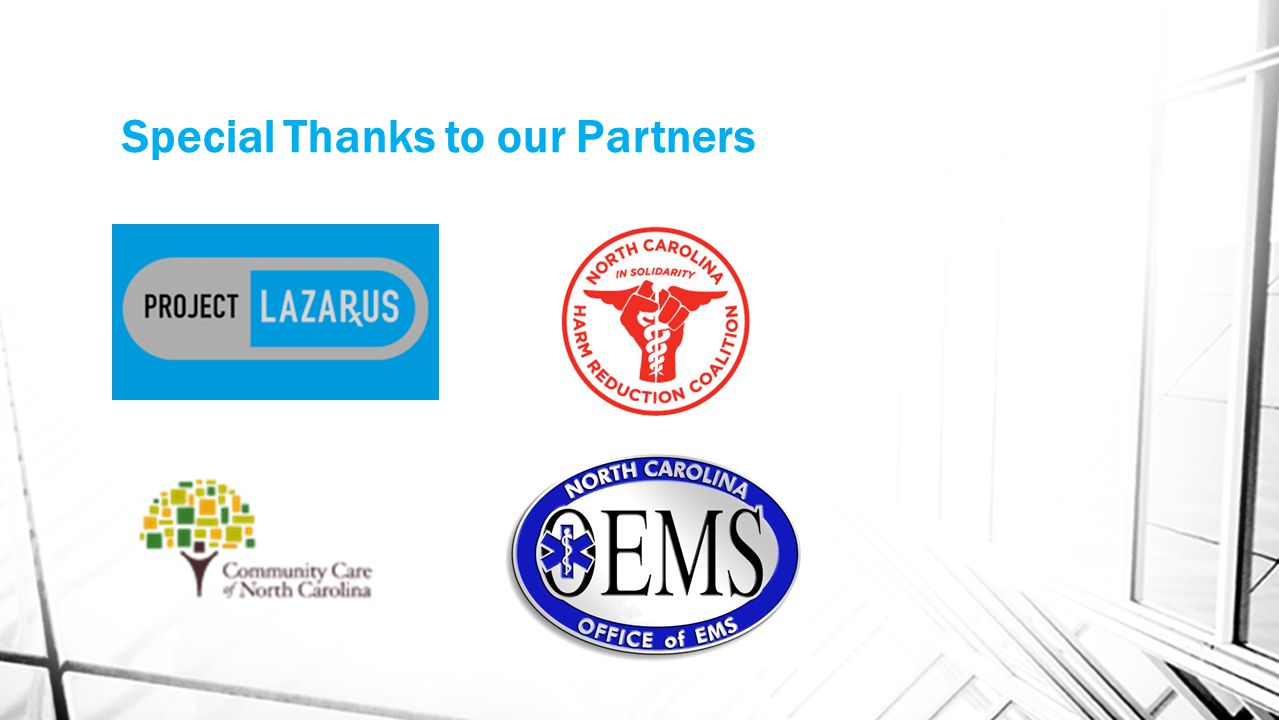 Special Thanks to our Partners
