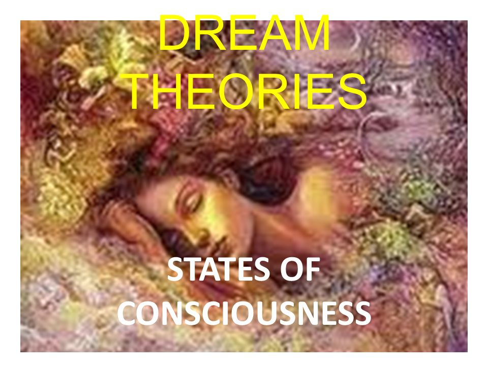 DREAM THEORIES STATES OF CONSCIOUSNESS