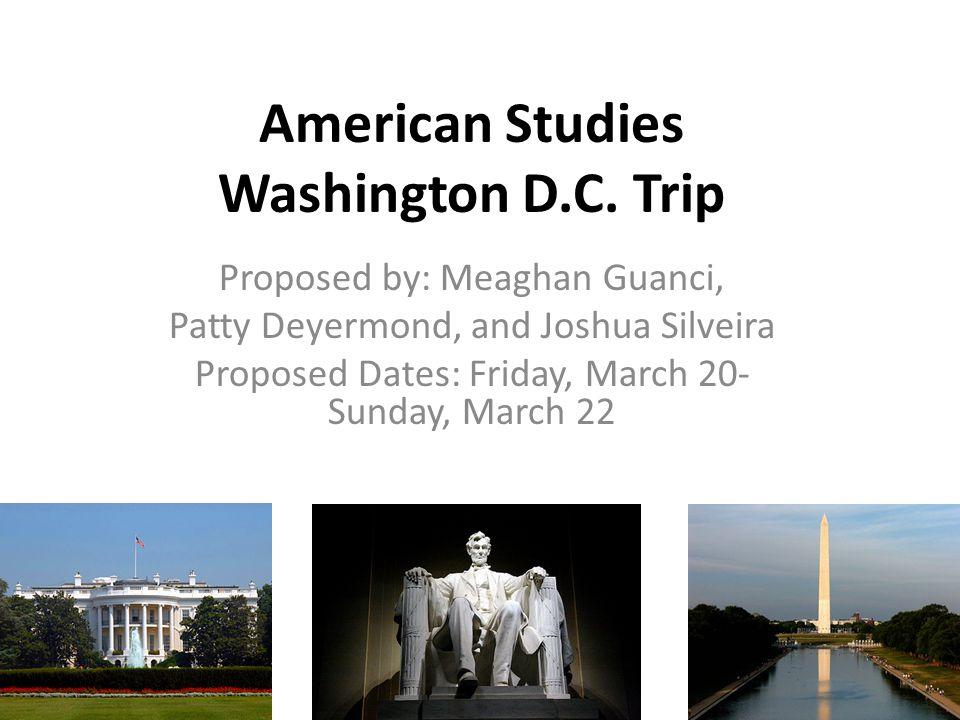 American Studies Washington D.C.
