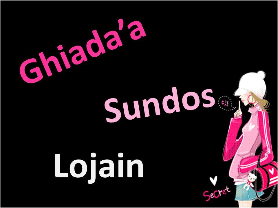 Ghiada'a Sundos Lojain
