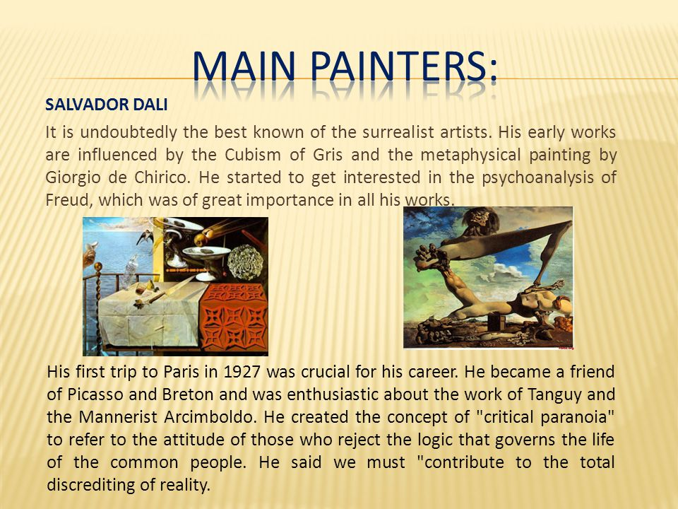 JOAN MIRÓ Breton regarded Miró as the most surrealist of all.