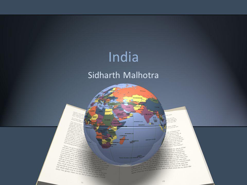 India Sidharth Malhotra