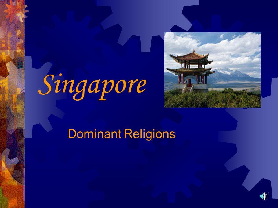 Singapore Dominant Religions