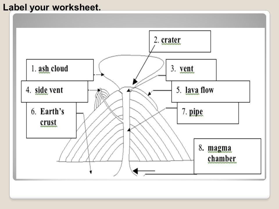 Label your worksheet.