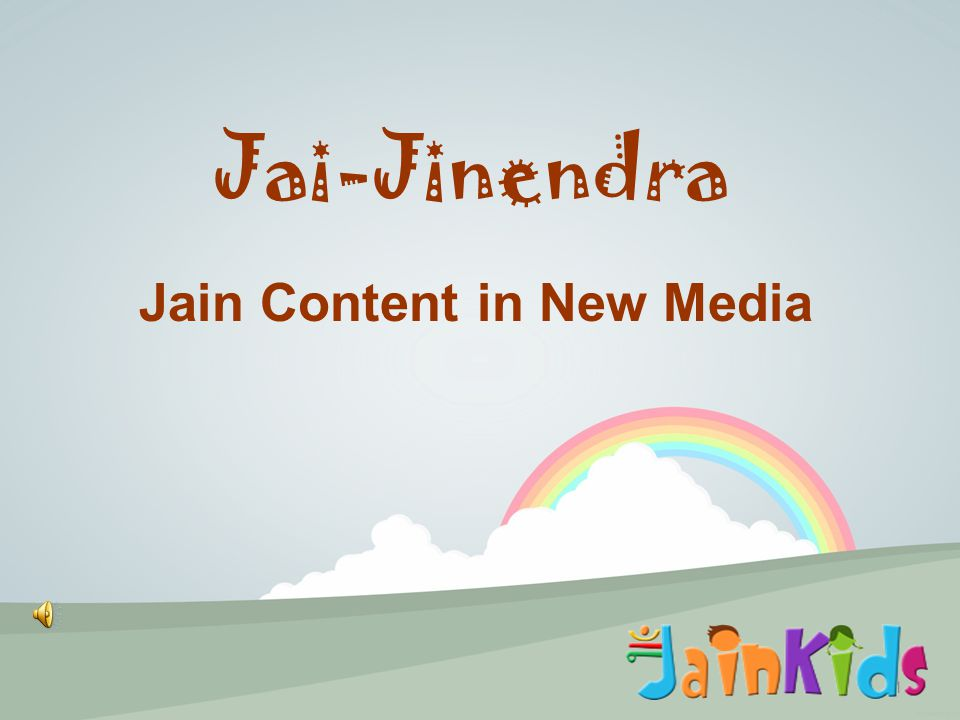 1 Jai-Jinendra Jain Content in New Media