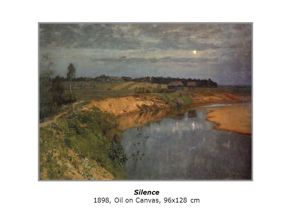 Silence 1898, Oil on Canvas, 96x128 cm