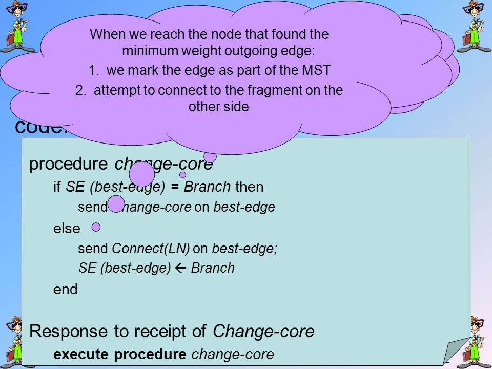 41 Changing the core core 5 3 basic rejected branch change-core connect(L)