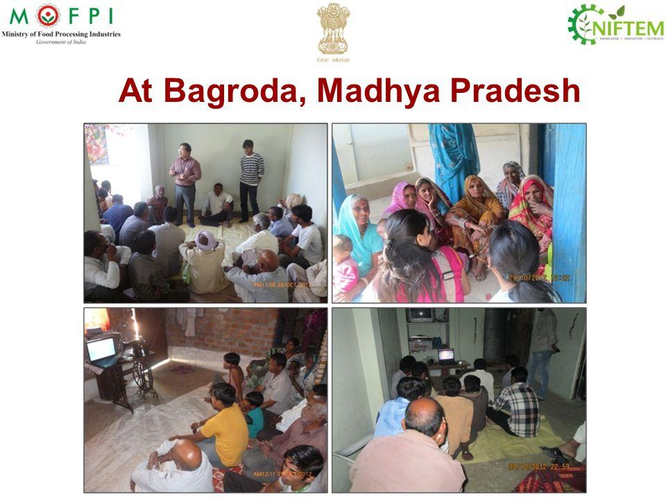 At Bagroda, Madhya Pradesh
