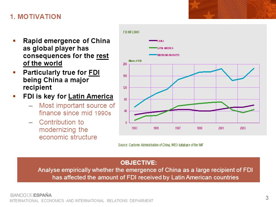 INTERNATIONAL ECONOMICS AND INTERNATIONAL RELATIONS DEPARMENT 4 1.