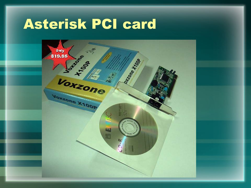 Asterisk PCI card