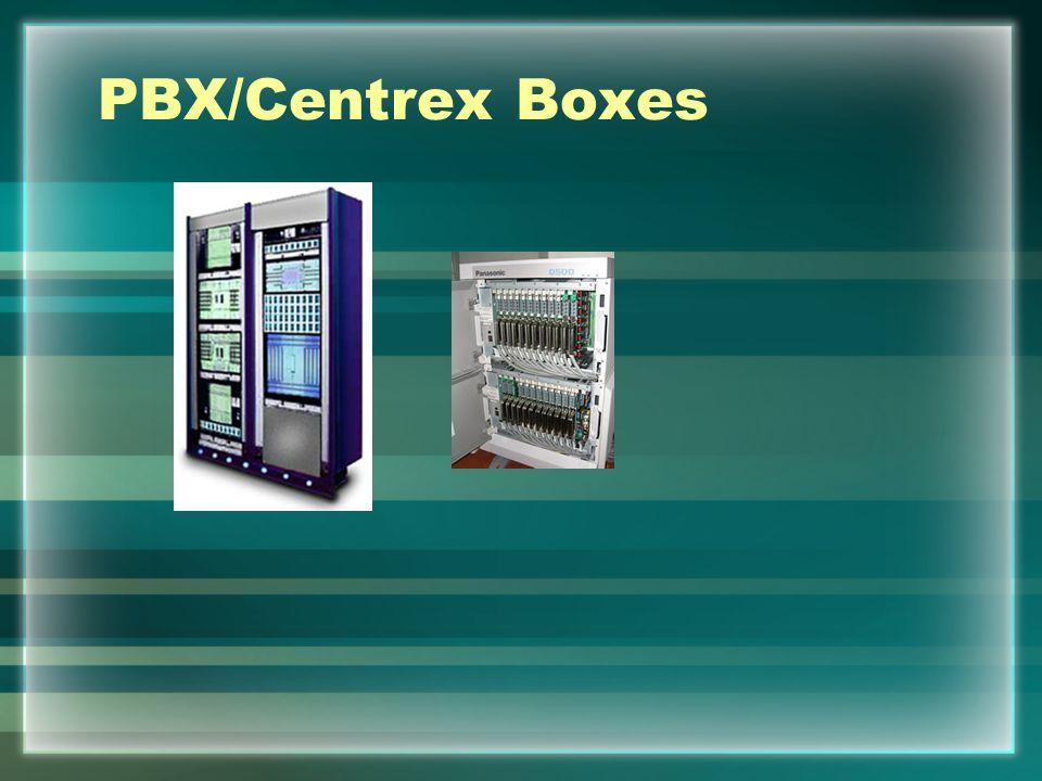 PBX/Centrex Boxes