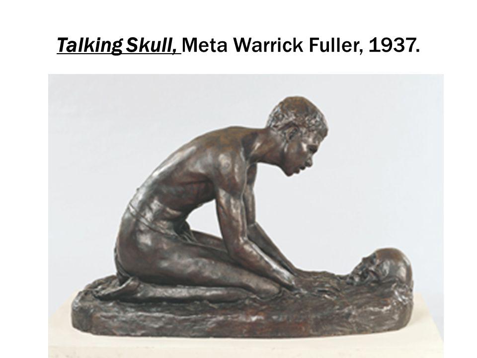 Talking Skull, Meta Warrick Fuller, 1937.