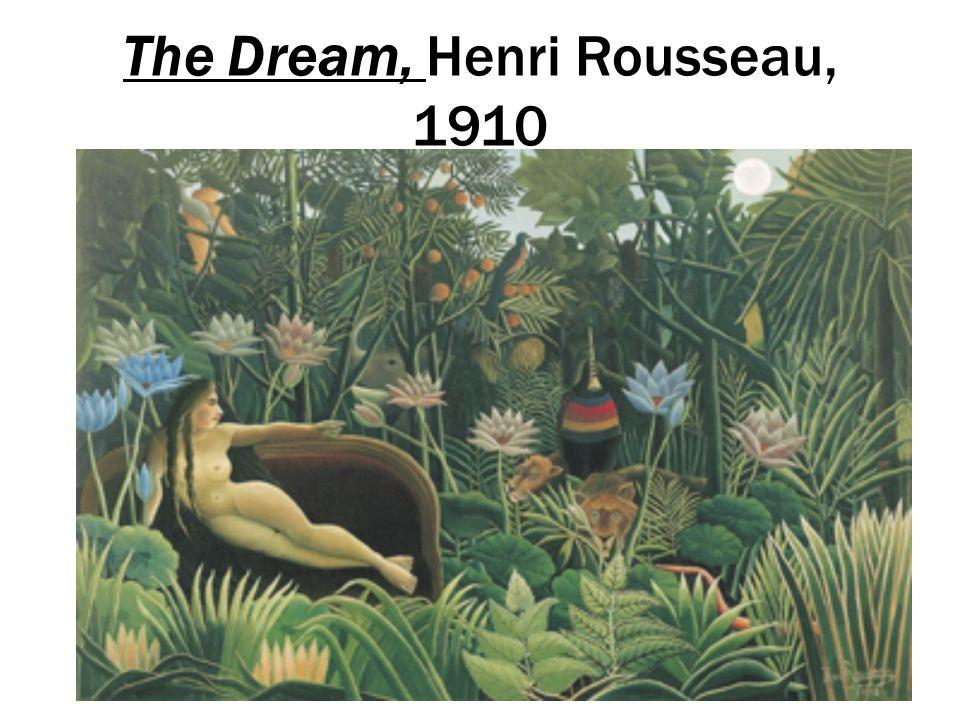 The Dream, Henri Rousseau, 1910