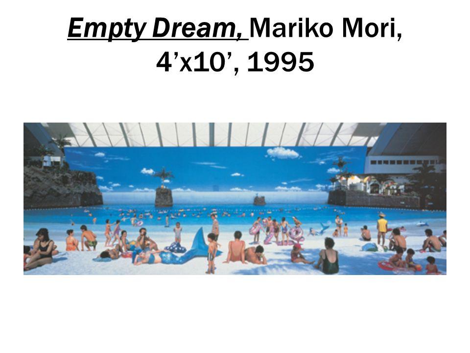 Empty Dream, Mariko Mori, 4'x10', 1995